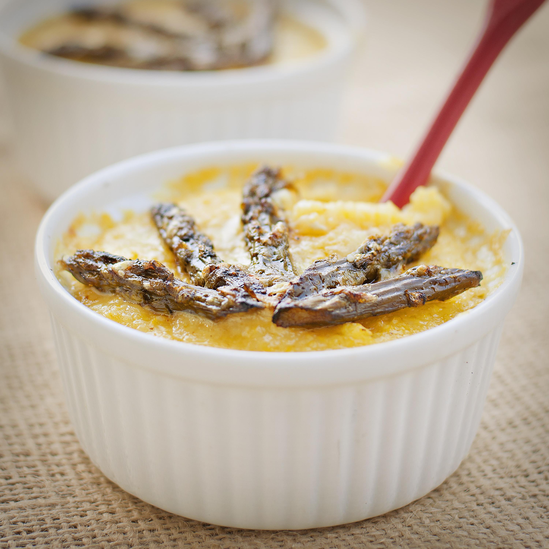 Springtime Comfort Food: Grits & Asparagus