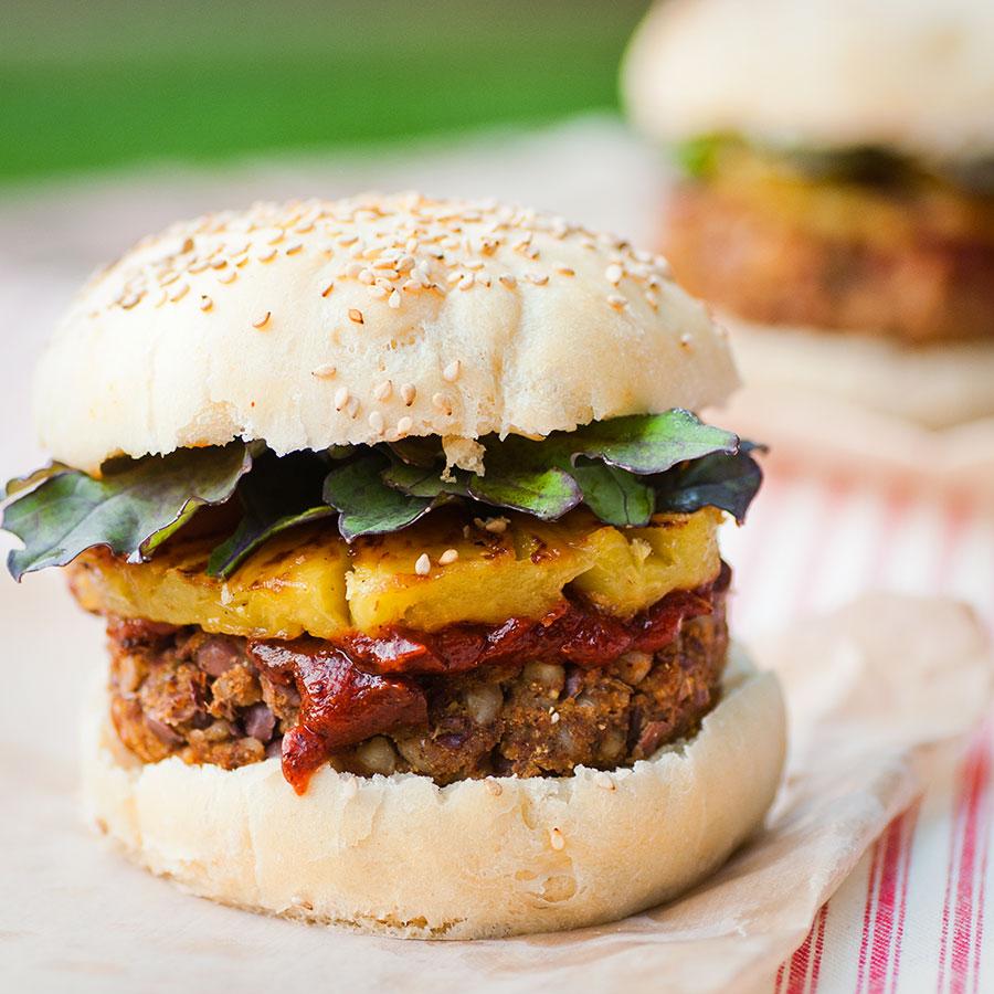 Adzuki Buckwheat Burgers