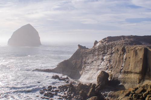 Haystack Rock at Pacific City