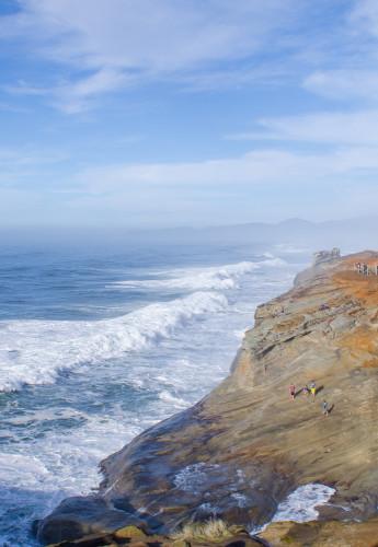 huge waves at Cape Kiwanda