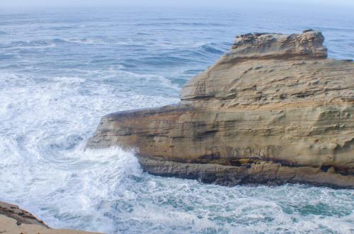 waves at Cape Kiwanda