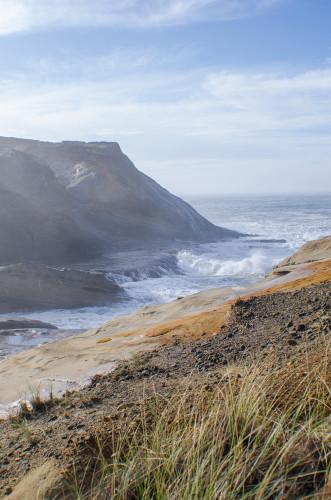 land and sea at Cape Kiwanda