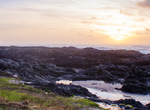 sunset at Cape Perpetua