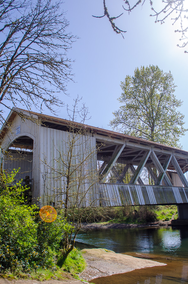 Larwood Bridge in Linn County, Oregon