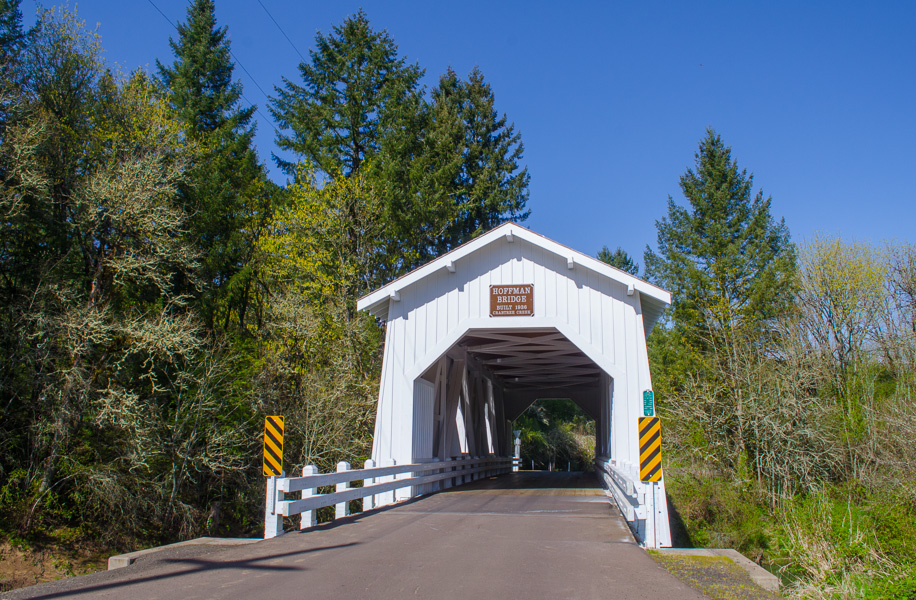 Hoffman Bridge in Linn County, Oregon