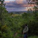 Sunset hike at Bald Hill