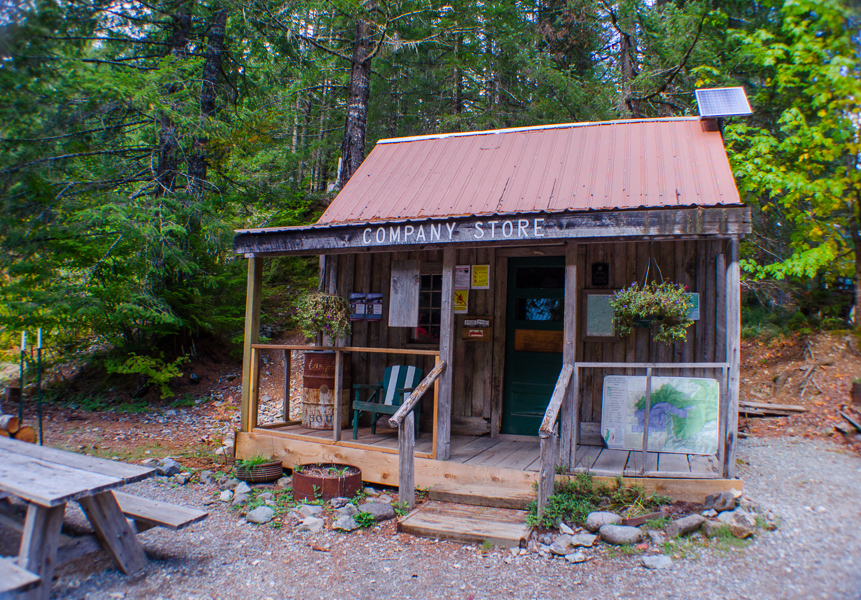 store at Opal Creek
